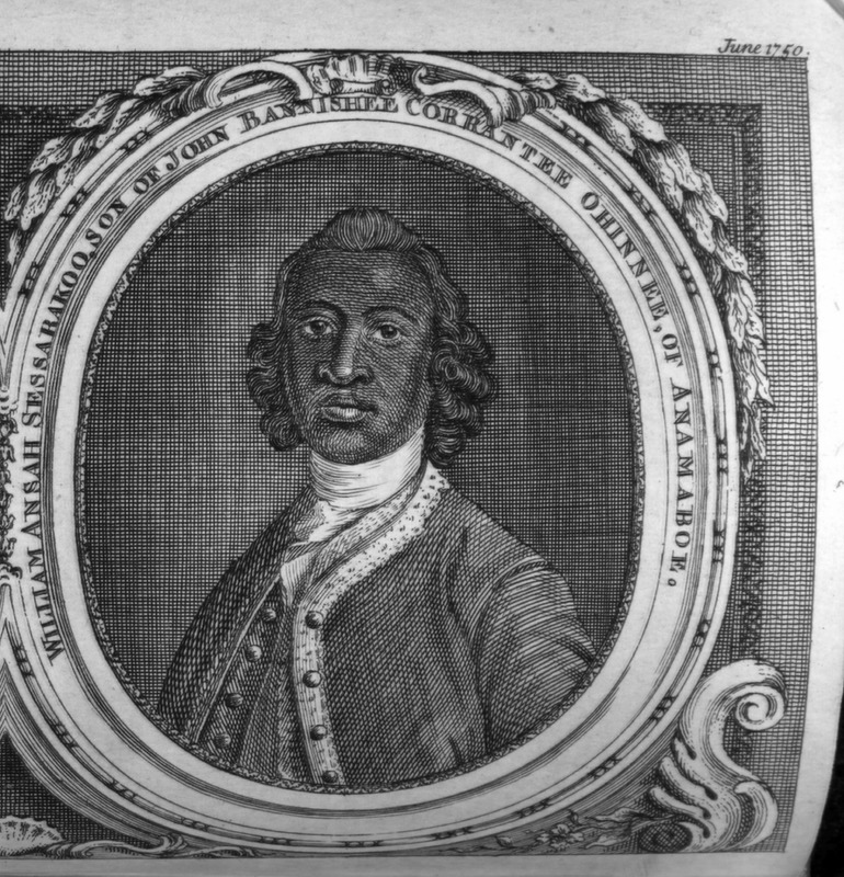 Enlargement of portrait published in 1750 Gentleman's Magazine. See also image reference gentmag and I028 on this website.