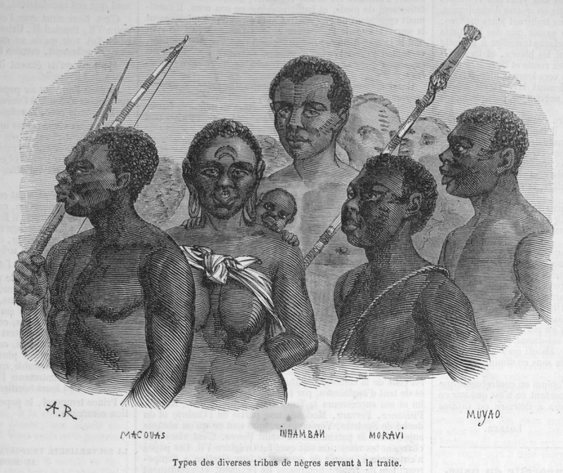 Capture of Slaves & Coffles in Africa · Slavery Images